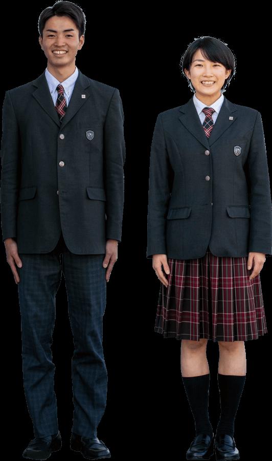 清林館高等学校|冬服ブレザー